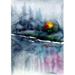 Winter landscape IV