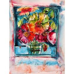 Still life poppies II