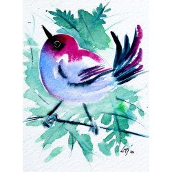 Cute bird - mini artwork