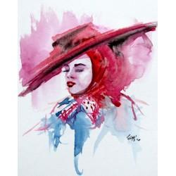 Girl with hat II