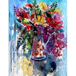 Colorful life with flowers II