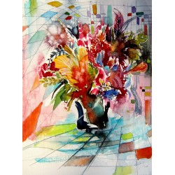 Colorful life with flowers VI