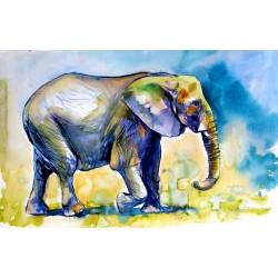 Majestic elephant alone III
