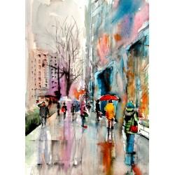 Rainy streets II