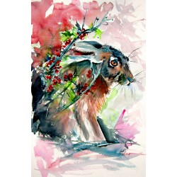 Rabbit in the grass II