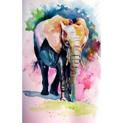 Elephant alone